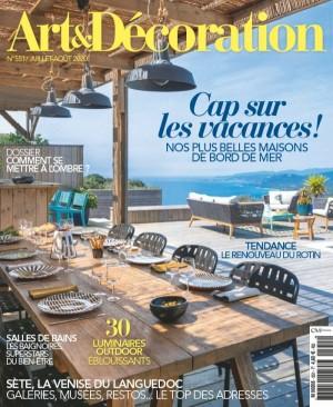 """Afficher """"Art et décoration n° 551 Art et décoration - juillet août 2020"""""""