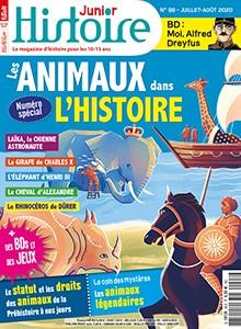 "Afficher ""Histoire Junior n° 98 Histoire Junior - juillet - août 2020"""