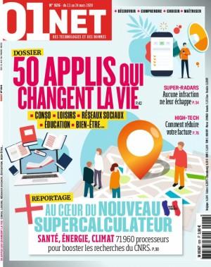 """Afficher """"01net/L'Ordinateur individuel/SVM n° 926 50 applis qui changent la vie"""""""