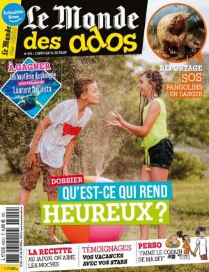 """Afficher """"LE MONDE DES ADOS n° 455 LE MONDE DES ADOS - 22 juillet 2020 - 25 juillet 2020"""""""