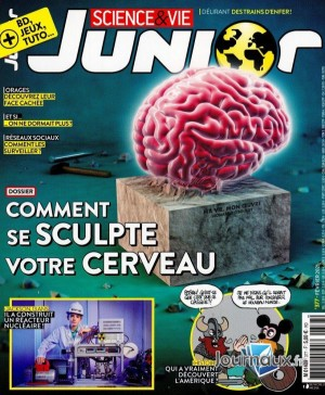 """Afficher """"Science & Vie JUNIOR n° 377Science & Vie JUNIOR - février 2021"""""""