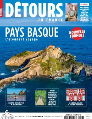 """Afficher """"Détours en France n° 233Pays basque l'étonnant voyage"""""""