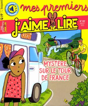 """Afficher """"Mes premiers j'aime lire n° 227Mystère sur le tour de Fraance"""""""