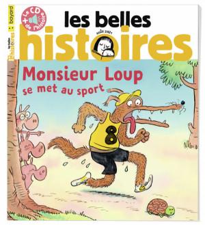 """Afficher """"Les belles histoires n° 584Monsieur loup se met au sport"""""""