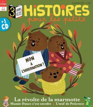 """Afficher """"Histoires pour les petits n° 212Non à l'hibernation!"""""""